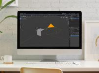 【blender2.81】カメラの向きをオブジェクトに固定する方法(トラック)のイメージ画像