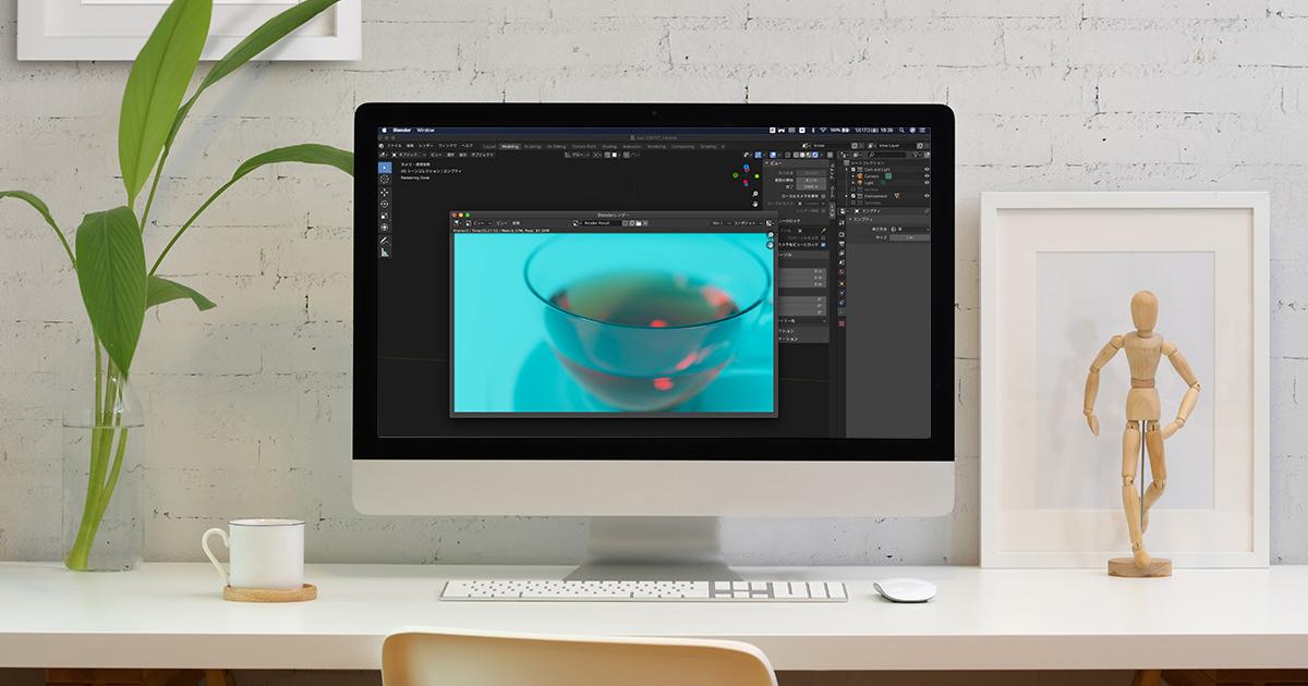 【blender2.81】カメラの焦点を操作しやすくする方法のイメージ画像