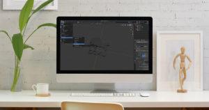 【blender2.81】AR用にglTFで書き出す(エクスポートする)方法のイメージ画像
