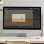 【blender2.81】読み込んだ画像を確認、削除する方法のイメージ画像