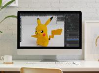 【blender2.81】ピカチュウをモデリングしてみたのイメージ画像
