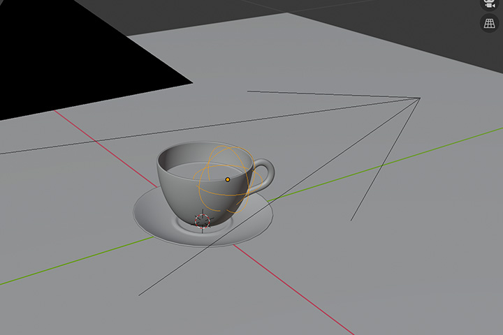 【blender2.81】カメラの焦点を操作しやすくする方法の画像3
