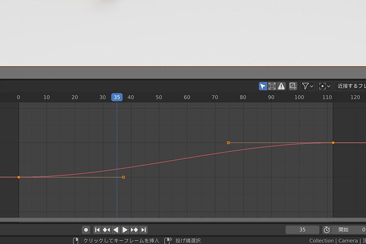 【blender2.8】パスに沿って走らせる方法(パスアニメーション)の画像15