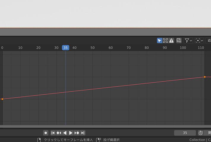 【blender2.8】パスに沿って走らせる方法(パスアニメーション)の画像17